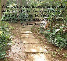 """""""Psalm 16:11""""  by Carter L. Shepard by echoesofheaven"""