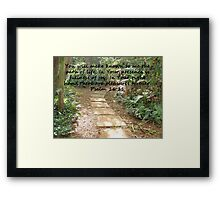 """Psalm 16:11""  by Carter L. Shepard Framed Print"