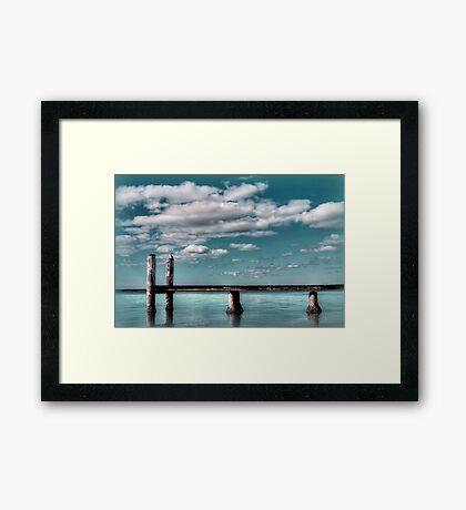 ~ azure ~ Framed Print