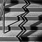 Stairs and Shadows by cclaude