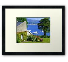 Ireland When The Sun Shines Framed Print