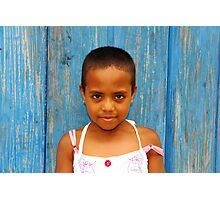 A Colombian Cutie Photographic Print