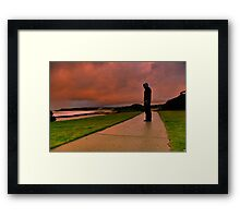 """Amid The Storms Of Life"" Framed Print"