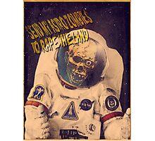 Astro Zombie Photographic Print