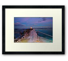 Pumphouse, Merewether Ocean Baths #2 Framed Print