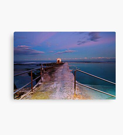 Pumphouse, Merewether Ocean Baths #2 Canvas Print