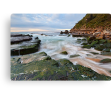 Turmoil - Turrimetta Beach, NSW Canvas Print