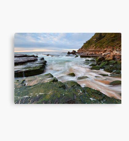 Turmoil - Turrimetta Beach, NSW Canvas Print