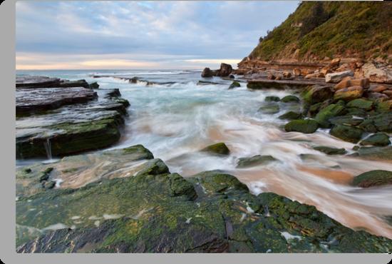 Turmoil - Turrimetta Beach, NSW by Malcolm Katon
