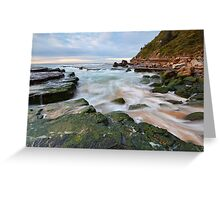 Turmoil - Turrimetta Beach, NSW Greeting Card