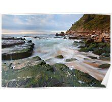 Turmoil - Turrimetta Beach, NSW Poster
