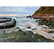 Turmoil - Turrimetta Beach, NSW Photographic Print