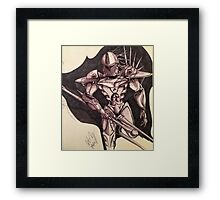 Elite Guardian Framed Print