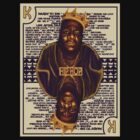 Hip Hop King -- Biggie by rubynibur