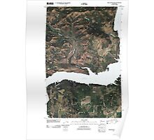 USGS Topo Map Washington State WA Miller Mountain 20110413 TM Poster