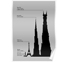 Towering Sauron Poster