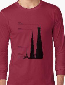 Towering Sauron Long Sleeve T-Shirt