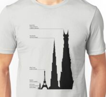 Towering Sauron Unisex T-Shirt