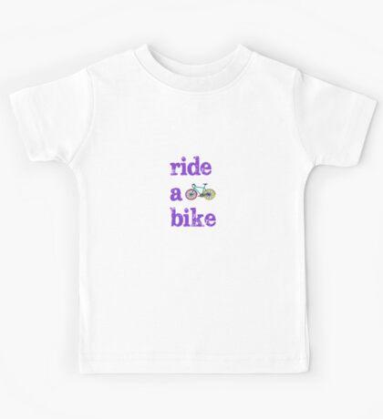 Ride a bike Kids Tee