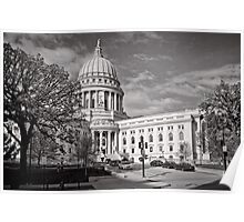 Madison Wisconsin Capitol Building - USA Poster