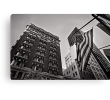 The architecture of Stars and Stripes - San Francisco, USA Canvas Print