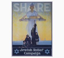 Share Jewish Relief Campaign 0001 One Piece - Short Sleeve