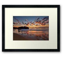 Main Beach - South West Rocks Framed Print