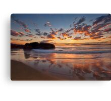Main Beach - South West Rocks Canvas Print