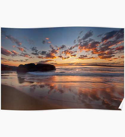 Main Beach - South West Rocks Poster