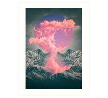 Ruptured Soul (Volcanic Clouds) Art Print