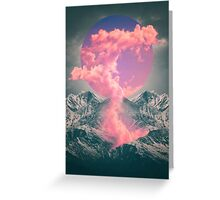Ruptured Soul (Volcanic Clouds) Greeting Card