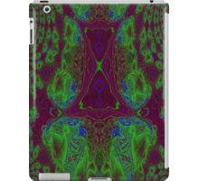 Fusion reactor - mapping of Photons into Electron- Positron pairs -graph iPad Case/Skin