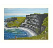 Cliffs of Moher, County Clare Art Print