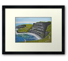 Cliffs of Moher, County Clare Framed Print