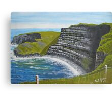 Cliffs of Moher, County Clare Canvas Print