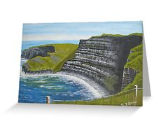 Cliffs of Moher, County Clare Greeting Card