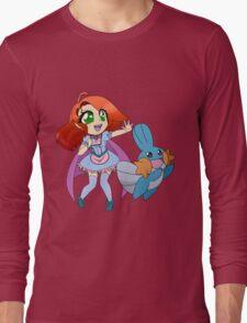 Tia and Mudkip Long Sleeve T-Shirt
