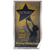 Add the fifth point Victory Liberty Loan 002 Poster