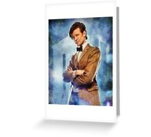 Dr. Who Greeting Card