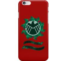 Christmas At S.H.I.E.L.D iPhone Case/Skin