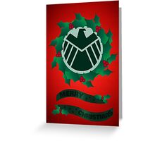 Christmas At S.H.I.E.L.D Greeting Card