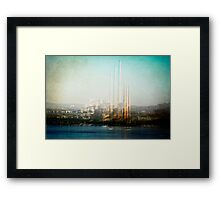 Echoes of Industry Framed Print