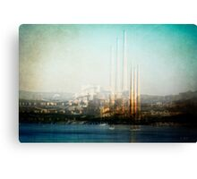 Echoes of Industry Canvas Print