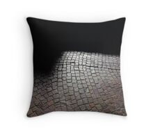 Dark Corners Throw Pillow