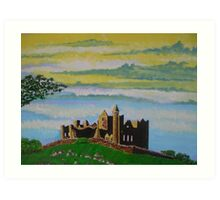 The Rock of Cashel, County Tipperary, Ireland, a romantic view Art Print