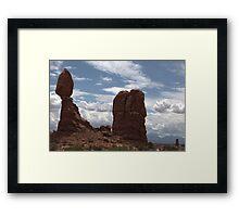 Balanced Rock Framed Print