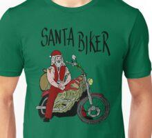Santa biker Unisex T-Shirt