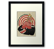 Toadstool Squadron Framed Print