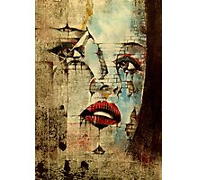 Fading Within Walls  Photographic Print