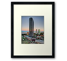 The Oracle - Gold Coast Framed Print